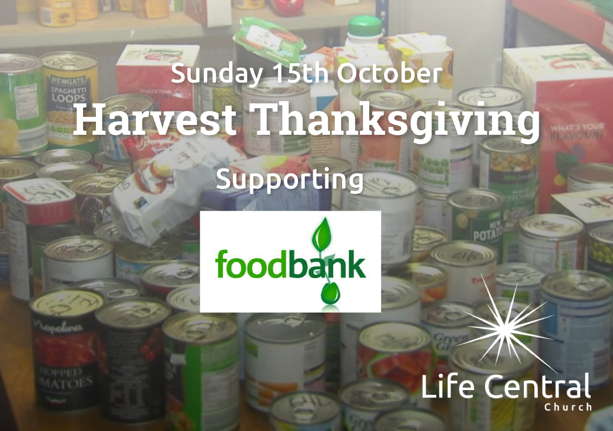Harvest blessing for Foodbank