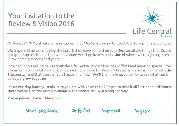 Vision Sunday 2016