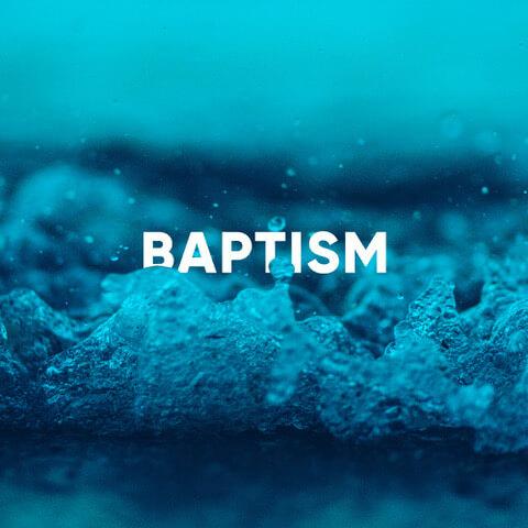 Sunday gatherings – baptism