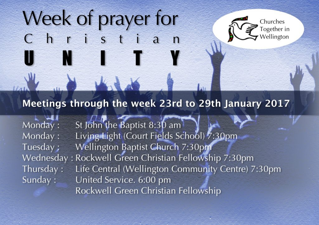 Week of prayer for Unity 2017