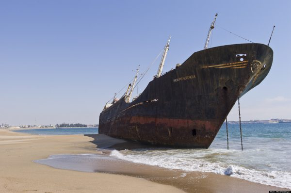 Grounded… or run aground?